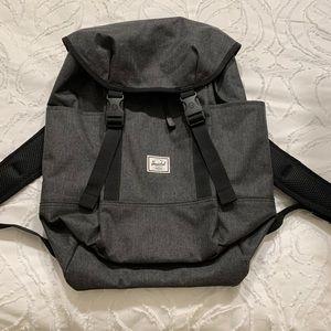 NWOT Herschel Backpack Dark Grey
